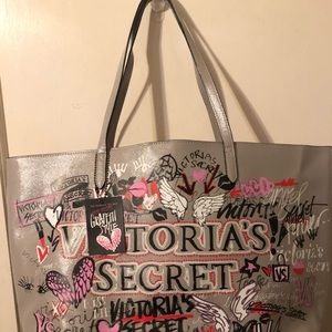 NWT VS Limited Edition Graffiti Tote